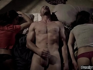 Stepuncle fucking his best friends daughter and her stepsis