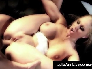 Hot naked milf julia ann does anal sex on a broadway stage