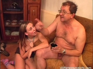 Natalli fucking an ugly old man Coffee for the exhibitionist