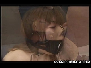 Japanese and fucks with a Large Open Mouth Gag