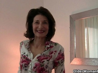 Grandmas libido gets fired up by the dirty photographer