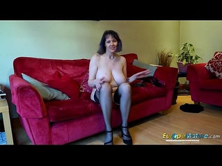 EuropeMaturE Lonely Lady Solo porn music Video