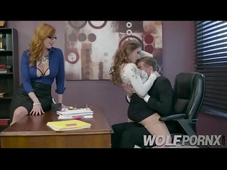 The two whores of my employees came to my office to ask for a raise
