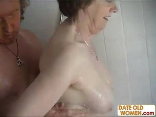 Old couple have hardcore anal action