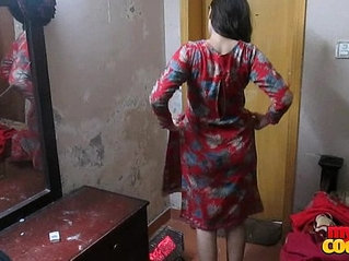 Indian wife sonia in shalwar suir strips naked hardcore fuck