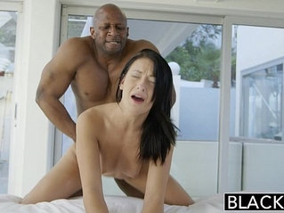 BLACKED Teen Interracial anal sex