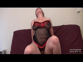 Casting amateur redhead in lingerie ass gaped and nailed