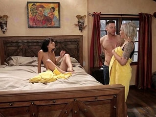 Mom and adopted daughter caught on Nina Elle, Gina Valentina