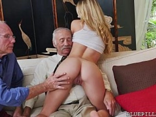 Young Molly Earns Her Keep by Fucking Old Guys on Blue Pill Men