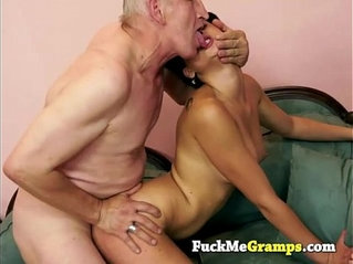 Nicole banging old horny man