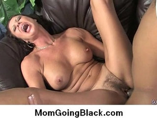 Interracial cougar porn video from Watching My Mom Go Black 30