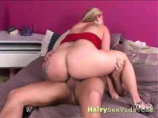 Hairy wet pussy wide