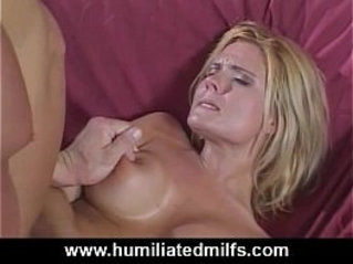 Milfs screams from her first did you ever anal